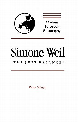"Simone Weil: ""The Just Balance"""