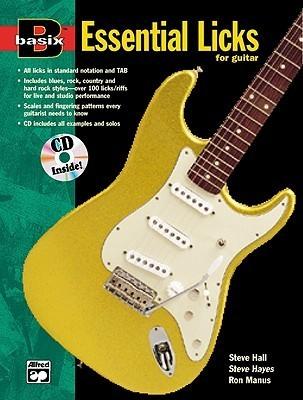 Basix Essential Licks for Guitar: Book & CD