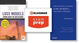 Loss Models: From Data to Decisions (Book, Solutions Manual, and Examprep)