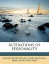 Alterations of Personality by Alfred Binet