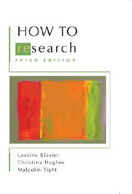 How to Research by Loraine Blaxter