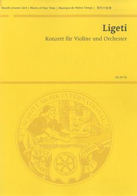 Concerto for Violin and Orchestra: Study Score