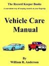 Vehicle Care Manual