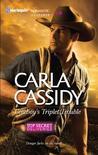 Cowboy's Triplet Trouble (Top Secret Deliveries #6)