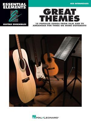 Great Themes: Essential Elements Guitar Ensembles