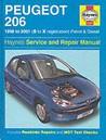 Peugeot 206 Petrol And Diesel Service And Repair Manual (Haynes Service & Repair Manuals)