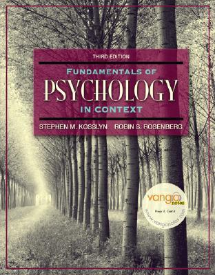Fundamentals of Psychology in Context