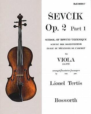 Sevcik for Viola: School of Bowing Technique, Opus 2 Part 1