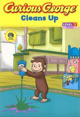 Curious George Cleans Up by Stephen Krensky