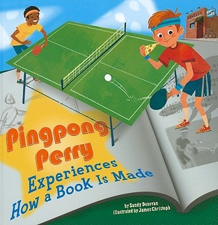 Pingpong Perry Experiences How A Book Is Made (In The Library)