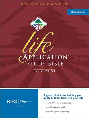 Holy Bible: NIV Life Application Study Bible, Large Print, Indexed