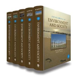 Encyclopedia of Environment and Society: Five-Volume Set