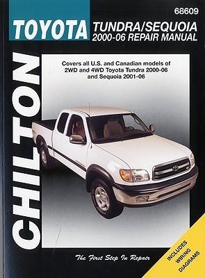 Chilton's Toyota Tundra/Sequoia, 2000-06 Repair Manual