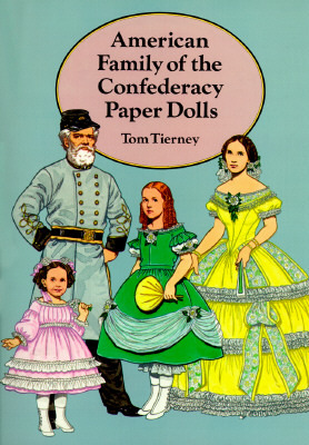 American Family of the Confederacy Paper Dolls