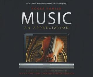 Music: An Appreciation, Brief Edition--9 CD Set