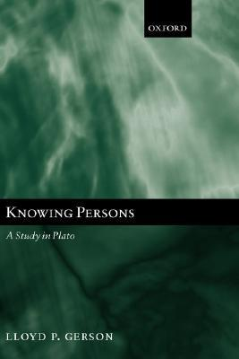 Knowing Persons: A Study in Plato