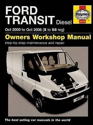 Ford Transit Diesel Service And Repair Manual: 2000 To 2006