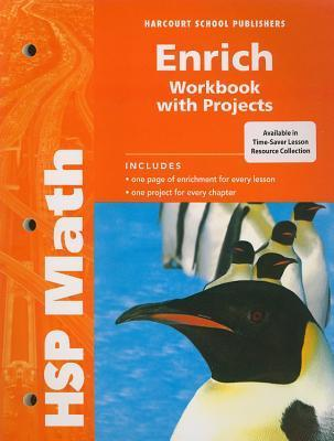 Hsp Math: Enrich Workbook with Projects Grade 5