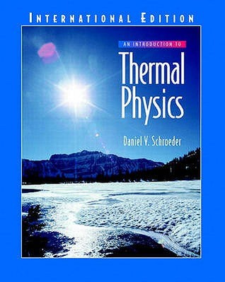 An introduction to thermal physics by daniel v schroeder fandeluxe Image collections