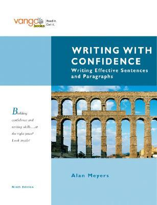 Writing with Confidence: Writing Effective Sentences and Paragraphs, Vangobooks