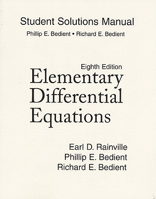 student solutions manual for elementary differential equations by rh goodreads com elementary differential equation solution manual differential equations solutions manual 4th