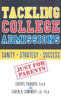 Tackling College Admissions: Sanity + Strategy = Success