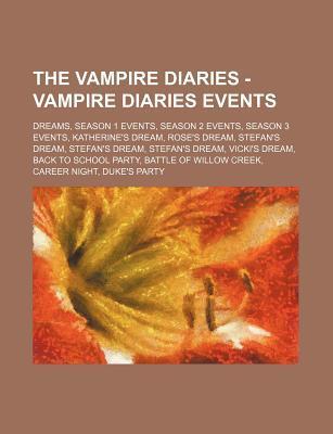 The Vampire Diaries - Vampire Diaries Events: Dreams, Season 1 Events, Season 2 Events, Season 3 Events, Katherine's Dream, Rose's Dream, Stefan's Dre