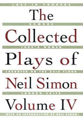The Collected Plays, Vol. 4