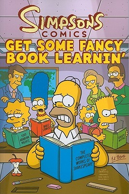 Simpsons Comics Get Some Fancy Book Learnin'