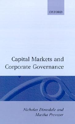 Capital Markets and Corporate Governance