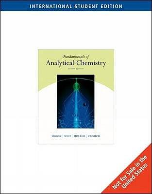 SKOOG ANALYTICAL CHEMISTRY EBOOK