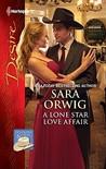 A Lone Star Love Affair by Sara Orwig