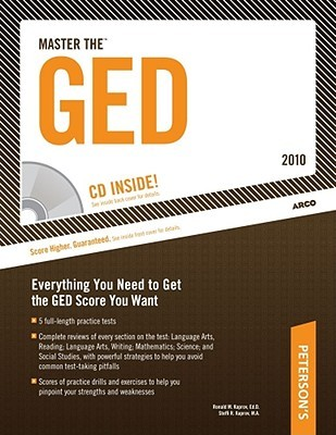 Master the GED 2010 (w/CD) (Master the Ged (Book & CD-Rom))