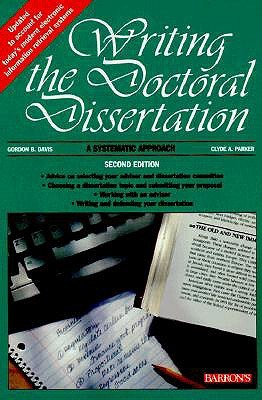 Writing the Doctoral Disseration