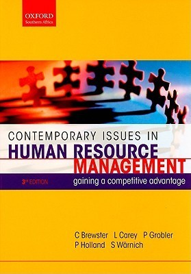 Contemporary Issues in Human Resource Management: Gaining a Competitive Advantage
