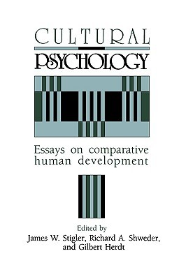 cultural psychology essays on comparative human development by  1139705