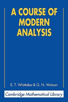 A Course of Modern Analysis