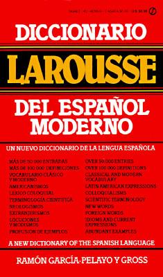 Diccionario Larousse del Espanol Moderno...