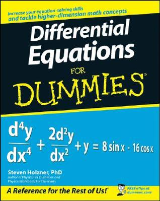 Differential Equations for Dummies by Steven Holzner
