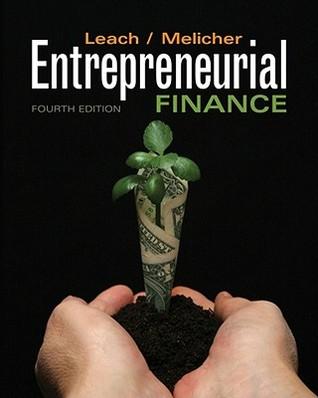 Entrepreneurial finance by j chris leach 9891907 fandeluxe Choice Image