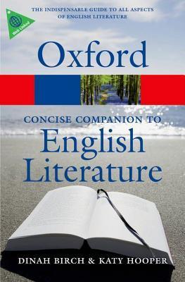 The Oxford Concise Companion to English Literature