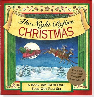 The Night Before Christmas: A Book and Paper Doll Fold-Out Play Set (Activity Book Series)