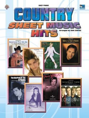 Country Sheet Music Hits: Easy Piano