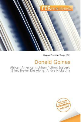 Donald Goines by Waylon Christian Terryn