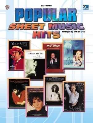 Popular Sheet Music Hits: Easy Piano