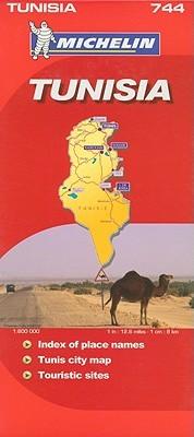 Michelin Map Africa: Tunisia #744