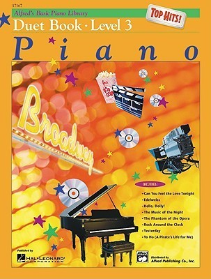 Alfred's Basic Piano Course Top Hits! Duet Book, Book 3