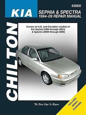 KIA Sephia & Spectra 1994-09 Repair Manual