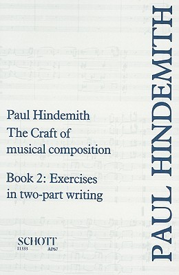 The craft of musical composition book 2 exercises in two for The craft of musical composition