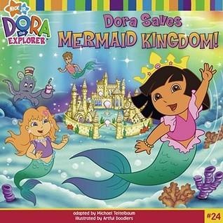 Dora Saves The Mermaids Coloring